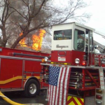 New Years Day Working Fire