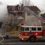 Constitution Ave Exeter Working Fire