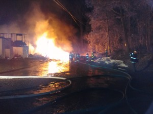 Mt. Penn crew assists Cumru Township on structure fire