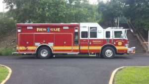 New rescue truck in service