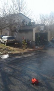 Exeter Township structure fire