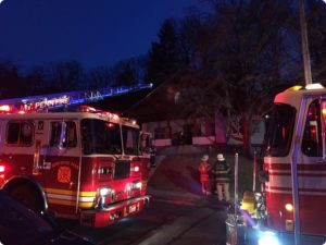 Reported kitchen fire in Mt. Penn