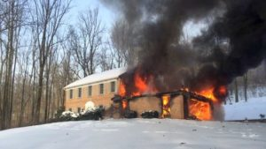 Exeter Structure Fire
