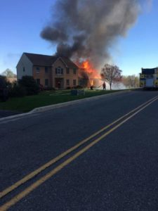 Assist to Alsace on structure fire