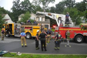 Amity Township assist on Structure Fire