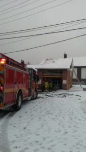 Assist to Birdsboro on structure fire