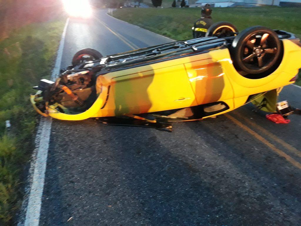 Early morning Alsace Crash