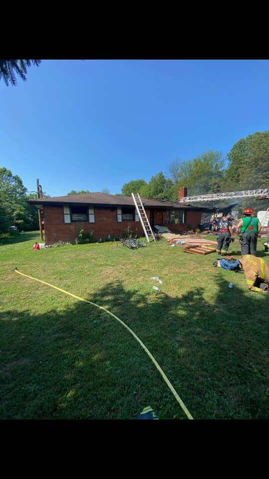 Amity Township Structure Fire
